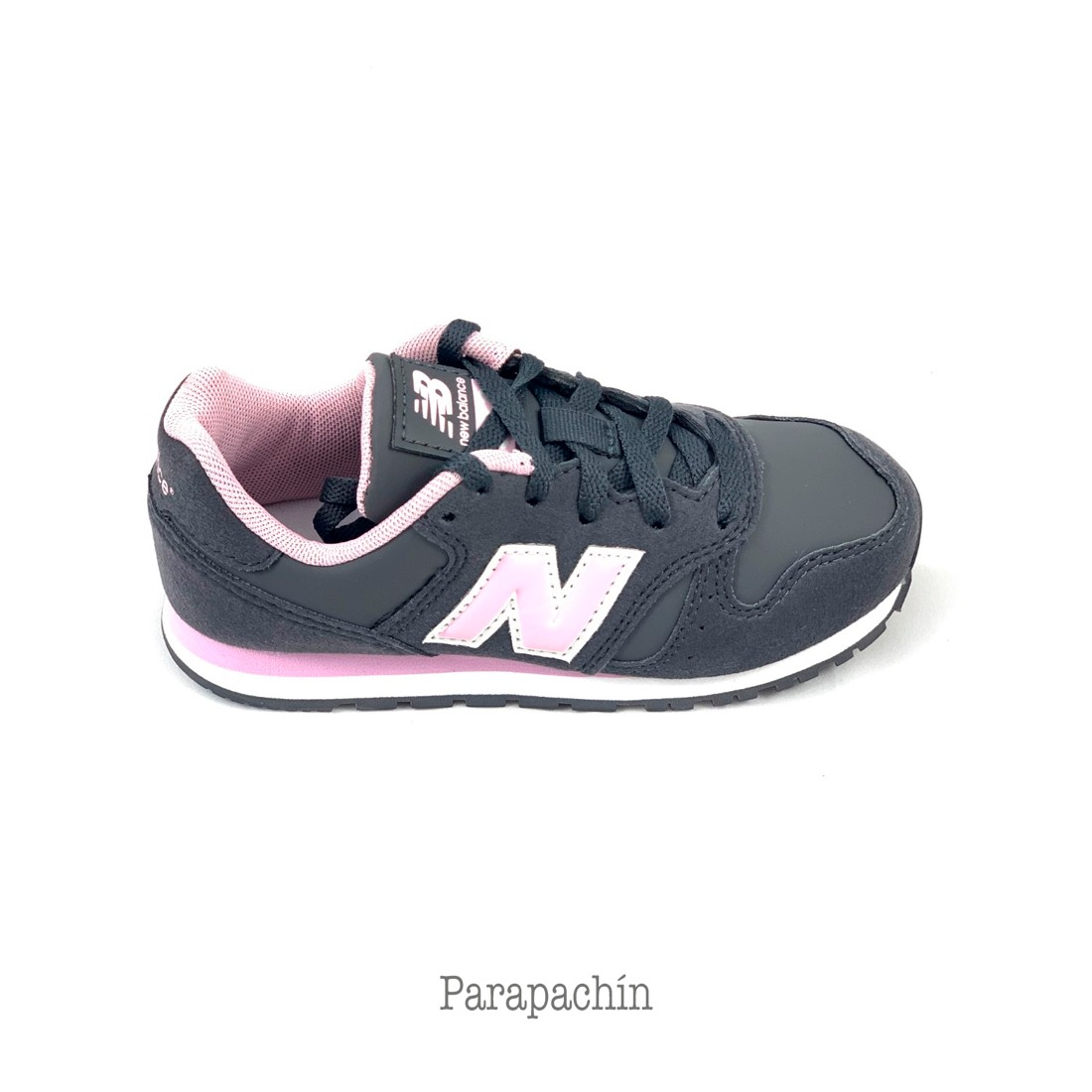 new balance niña running